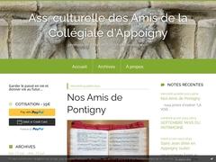 Les Amis de la Collégiale d'Appoigny