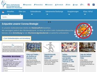 Vorschaubild der Webseite von Kath. Kindergarten St. Franziskus