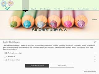Vorschaubild der Webseite von Kinderstube e.V. Kaufbeuren