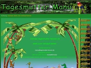 Vorschaubild der Webseite von Kindertagespflege Kindergruppe Dschungelkids