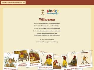 Vorschaubild der Webseite von Integrative Kindertagesstätte Kuschelhaus