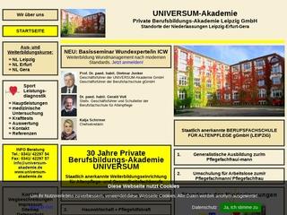 Vorschaubild der Webseite von Private Berufsbildungs-AKADEMIE GmbH