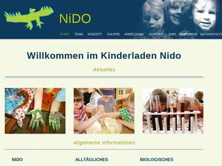 Vorschaubild der Webseite von Eltern-Initiativ-Kindertagesstätte Integrative Kinderbetreuung NIDO