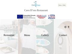 Cavo D'oro restaurant - Vieux port