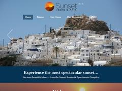 Iliovasilema Hotel (Sunset) - Unclassified hotel - Anafi Island