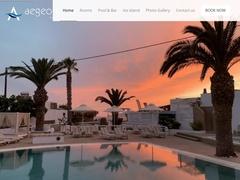 Aegeon Hotel  - Hôtel 1 * - Mylopotas - Ios - Cyclades