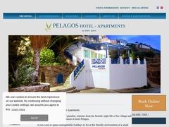 Pelagos Apartments - Hôtel 4 Clés - Mylopotamos - Ios - Cyclades