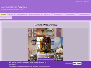 Vorschaubild der Webseite von Evang. Johanneskindergarten