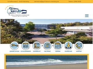 Vorschaubild der Webseite von Gymnasium Marsberg