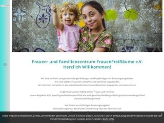 Vorschaubild der Webseite von Mütterzentrum Frauenfreiräume e.V. Reinheim