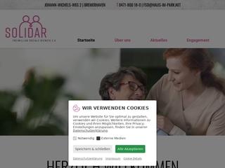 Vorschaubild der Webseite von SOLIDAR Freiwillige Soziale Dienste e.V. zur Betreuung älterer und pflegebedürftiger Menschen (FSD e.V.)