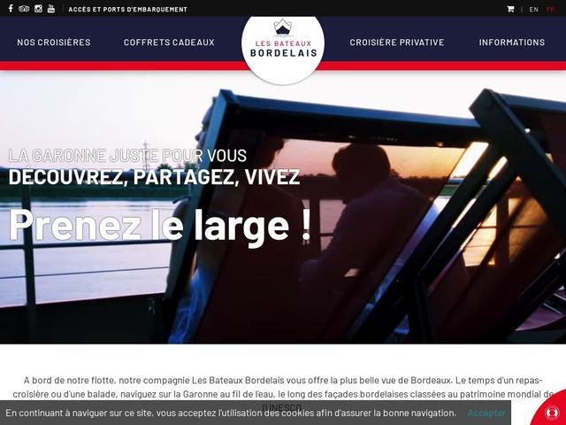 Croisière Bordeaux River Cruise