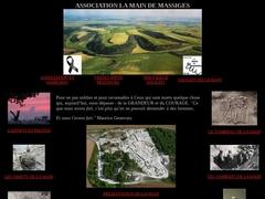 Site officiel de l'association La Main de Massiges