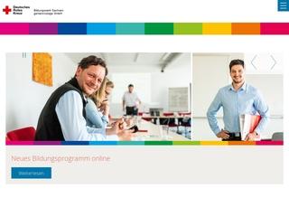 Vorschaubild der Webseite von Deutsches Rotes Kreuz Bildungswerk Sachsen gGmbH