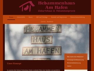 Vorschaubild der Webseite von Hebammenhaus am Hafen