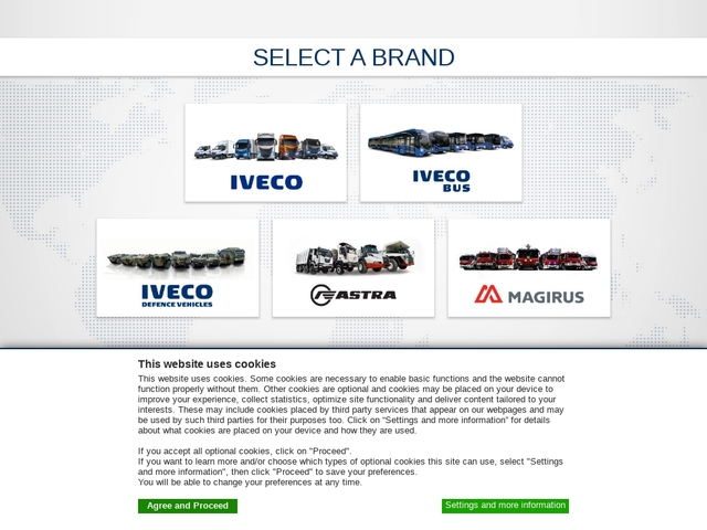 Iveco Corporate Home Page