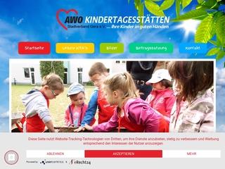 Vorschaubild der Webseite Integrative Kindertagesstätte  Mosaik
