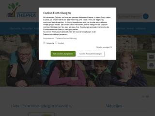 Vorschaubild der Webseite von Kindertagesstätte Albrechtser Waldstrolche