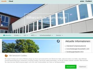Vorschaubild der Webseite von Bilharzschule Sigmaringen
