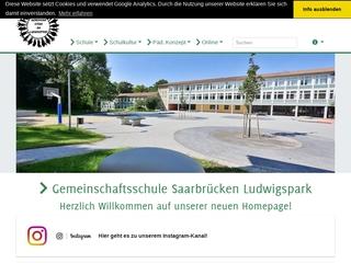 Vorschaubild der Webseite von Gesamtschule Saarbrücken-Ludwigspark