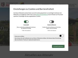 Vorschaubild der Webseite von Grundschule Dernau