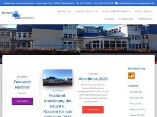 Vorschaubild der Webseite von Realschule Plus Queidersbach