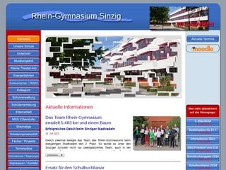 Vorschaubild der Webseite von Rhein-Gymnasiums Sinzig