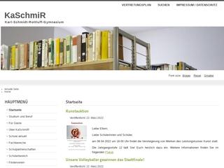 Vorschaubild der Webseite von Karl-Schmidt-Rottluff-Gymnasium