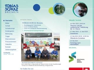 Vorschaubild der Webseite von Tobias-Förderschule Bremen