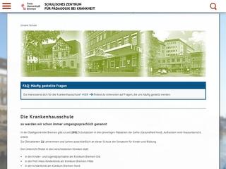 Vorschaubild der Webseite von Schule an der Züricher Straße