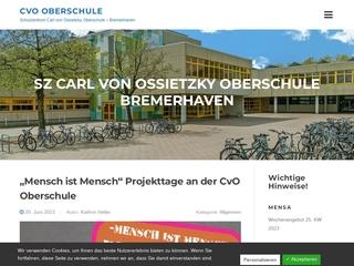 Vorschaubild der Webseite von Schulzentrum Carl von Ossietzky