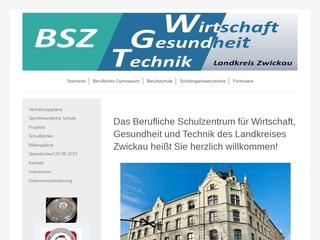 Vorschaubild der Webseite von Berufliches Schulzentrum für Wirtschaft, Gesundheit und Technik