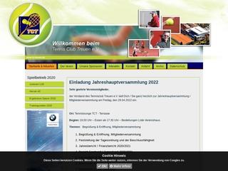 Vorschaubild der Webseite von Tennisclub Treuen e.V.