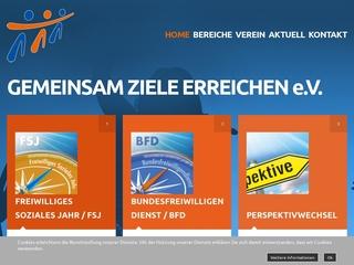 Vorschaubild der Webseite Gemeinsam Ziele Erreichen e.V.