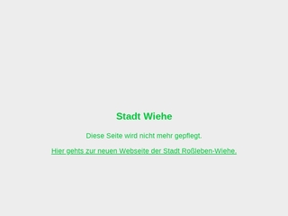 Vorschaubild der Webseite Stadtbibliothek Wiehe