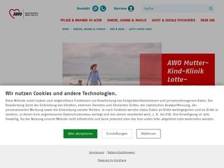 Vorschaubild der Webseite von Gesundheitszentrum für Mütter und Kinder Lotte-Lemke-Haus