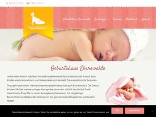 Vorschaubild der Webseite von Geburtshaus Eberswalde