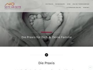 Vorschaubild der Webseite von Hebammenpraxis Lichtenstein