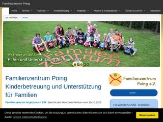 Vorschaubild der Webseite von Familienzentrum Poing