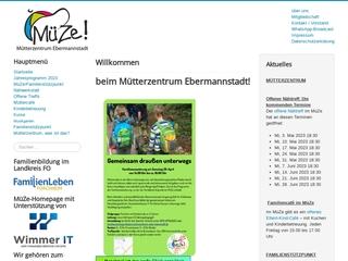 Vorschaubild der Webseite von Mütterzentrum Ebermannstadt e.V.