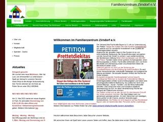 Vorschaubild der Webseite von Familienzentrum Zirndorf e.V.