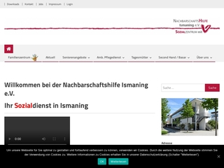 Vorschaubild der Webseite von Familienzentrum Nachbarschaftshilfe e.V.