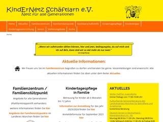 Vorschaubild der Webseite von Kindernetz Familienzentrum