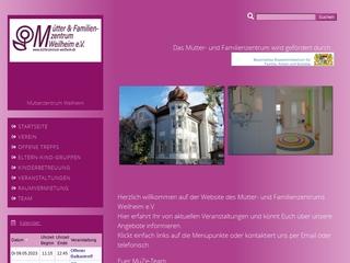 Vorschaubild der Webseite von Mütterzentrum Weilheim