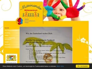 Vorschaubild der Webseite von MGH Mütterzentrum Miteinander e.V.