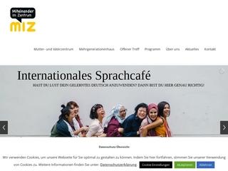 Vorschaubild der Webseite von MGH Familienzentrum Aschaffenburg
