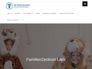 Vorschaubild der Webseite von Familienzentrum Laim
