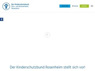 Vorschaubild der Webseite von Mütter-Väter-Zentrum Kinderschutzbund Rosenheim