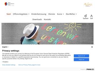 Vorschaubild der Webseite von MüFaz Mütter-und Familienzentrum e.V.