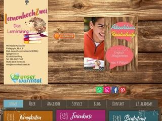 Vorschaubild der Webseite von lernenhochzwei - Das Lerntraining